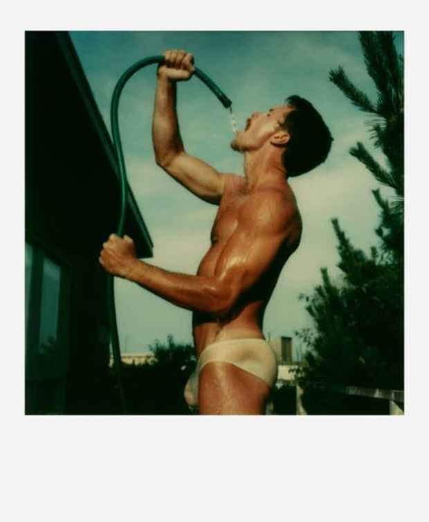 "poster for Tom Bianchi ""Fire Island Pines: Polaroids 1975-1983"""