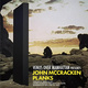 "poster for John Mccracken ""Planks"""