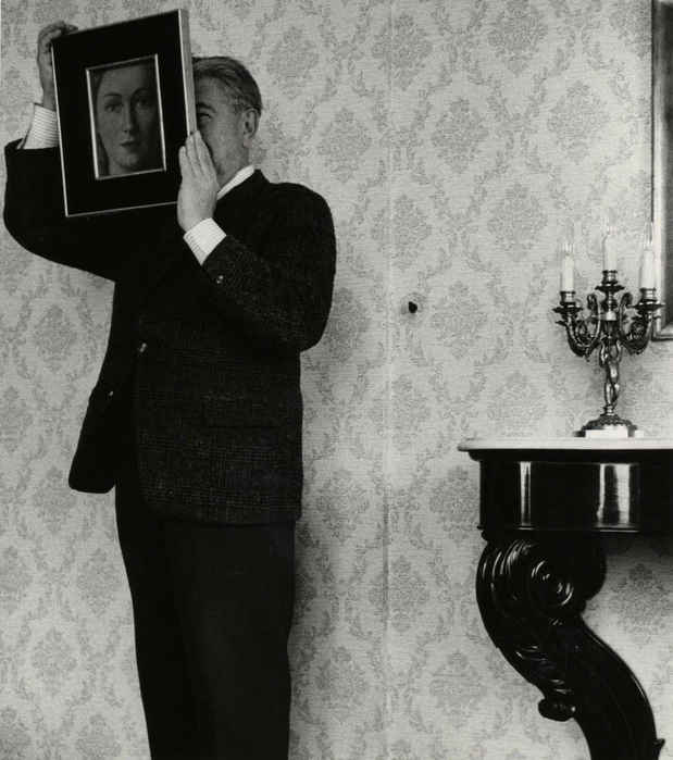 "poster for René Magritte ""The Photographs"""
