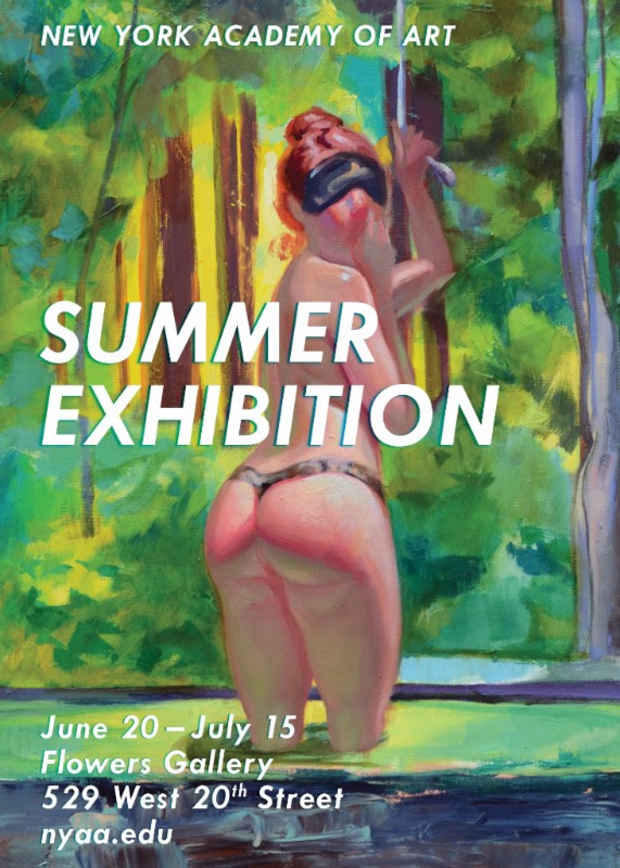 "poster for ""Summer Exhibition"""
