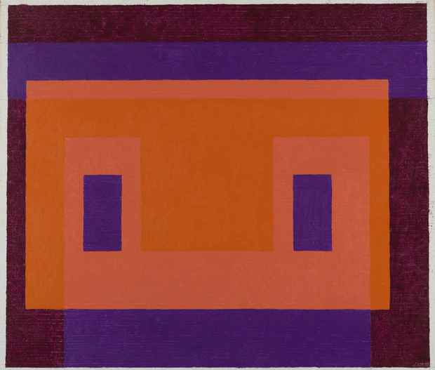 "poster for ""Josef Albers in Mexico"" Exhibition"