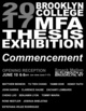 "poster for ""Brooklyn College MFA Thesis Show"""