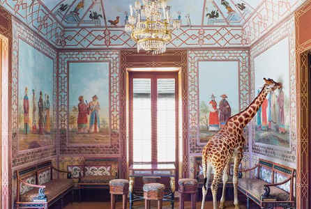 poster for Karen Knorr Exhibition