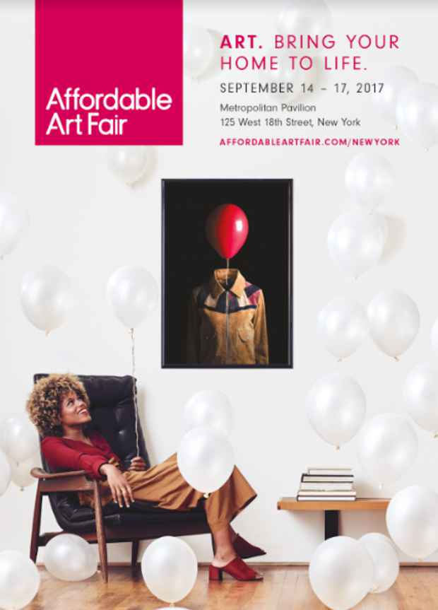 "poster for ""Affordable Art Fair NYC"""