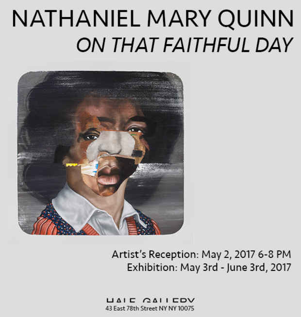 poster for Nathaniel Mary Quinn Exhibition