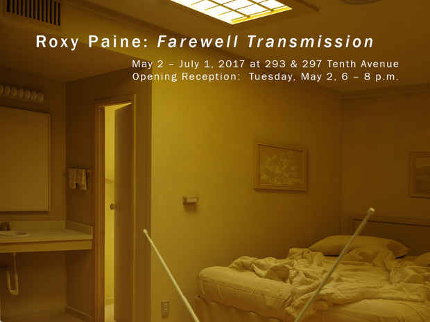 "poster for Roxy Paine ""Farewell Transmission"""