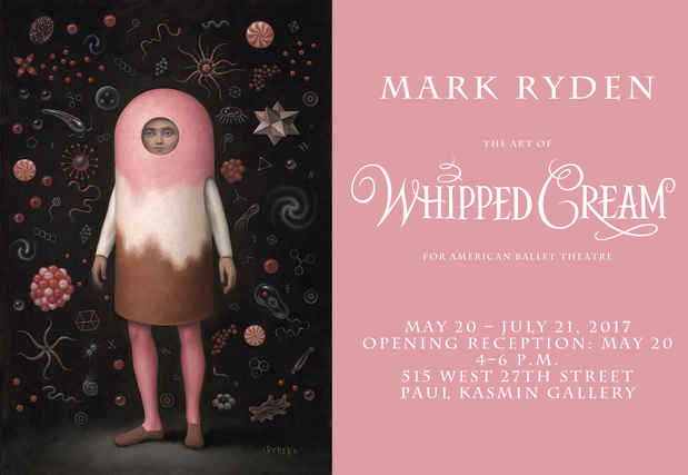 "poster for Mark Ryden ""The Art of Whipped Cream"""