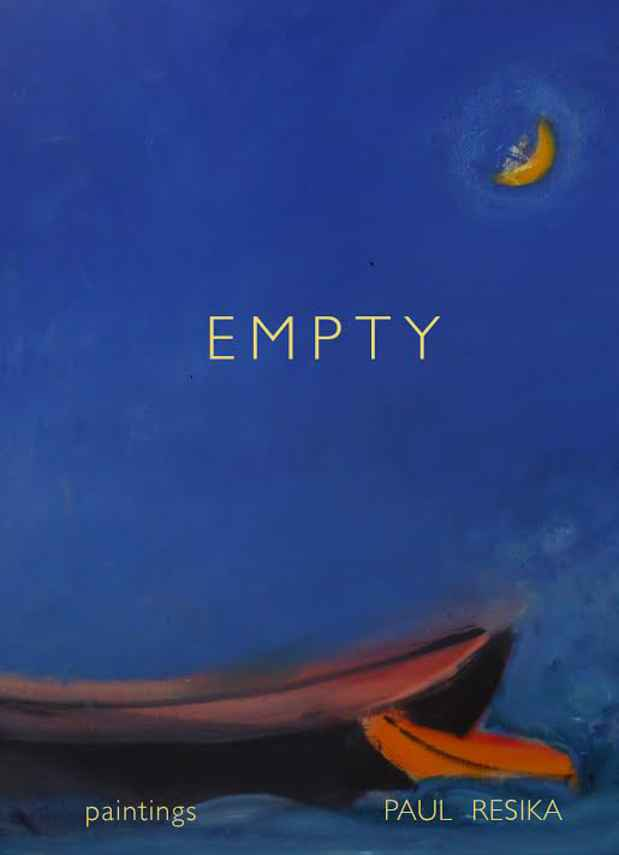 "poster for Paul Resika ""Empty"""