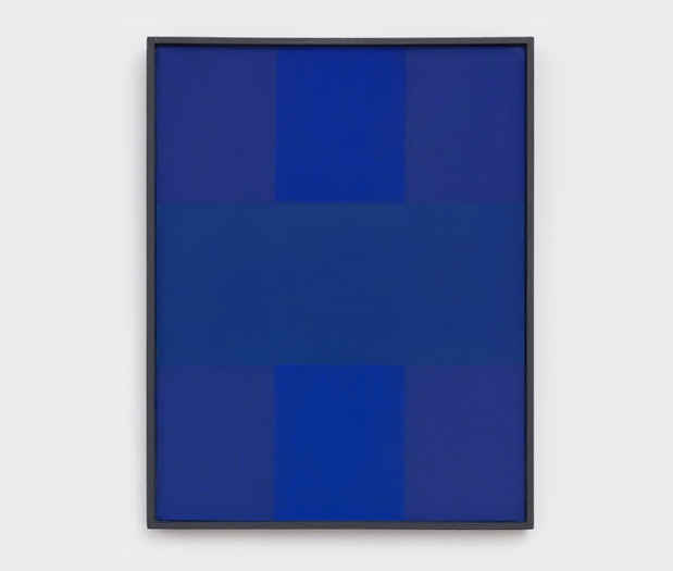 "poster for Ad Reinhardt ""Blue Paintings"""