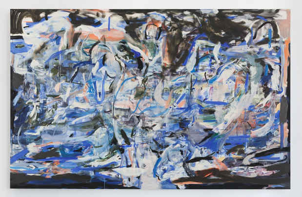 "poster for Cecily Brown ""A Day! Help! Help! Another Day!"""
