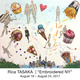 "poster for Rica Tasaka ""Embroidered NY"""