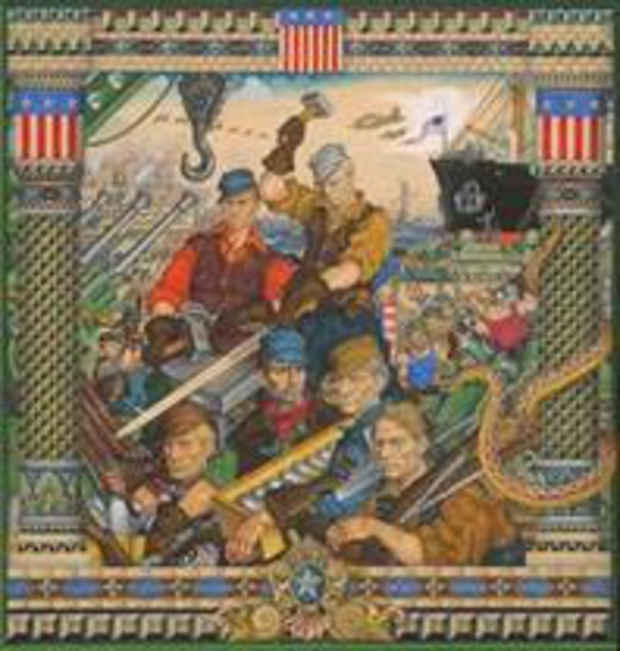 "poster for Arthur Szyk ""Soldier in Art"""