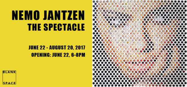 "poster for Nemo Jantzen ""The Spectacle"""