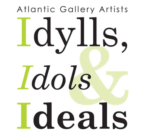 "poster for ""Idylls, Idols & Ideals"" Exhibition"