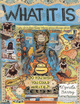 "poster for Lynda Barry ""What Is It and Other Works"""