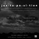 "poster for ""jux·ta·po·si·tion"" Exhibition"