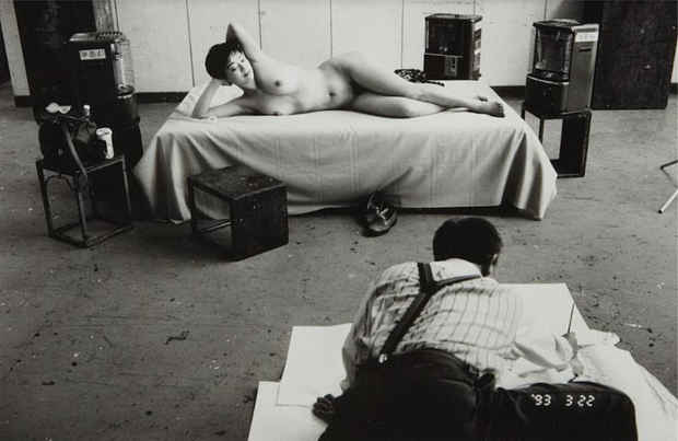 "poster for ""Acts of Intimacy: The Erotic Gaze in Japanese Photography, Araki, Moriyama, Yoshiyuki"" Exhibition"