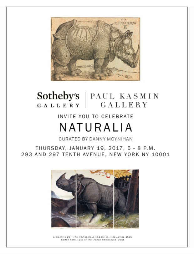 "poster for ""Naturalia"" Exhibition"