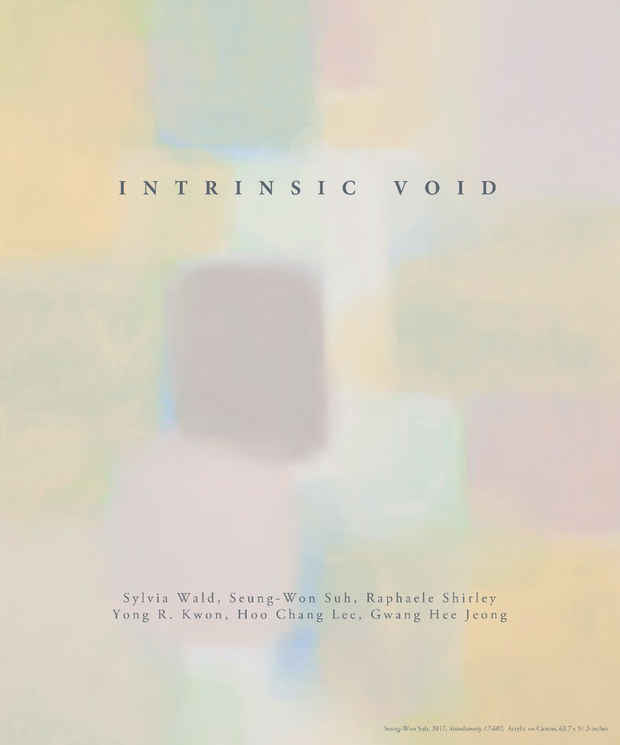 "poster for ""Intrinsic Void"" Exhibition"