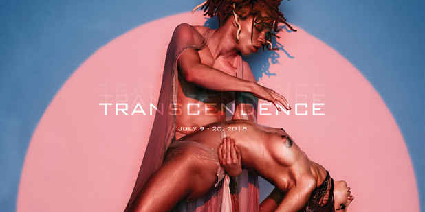 "poster for ""Transcendence"" Exhibition"