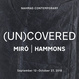 "poster for ""(UN)COVERED:  Miró 