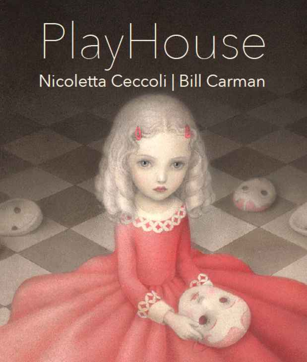 "poster for Nicoletta Ceccoli and Bill Carman ""PlayHouse"""