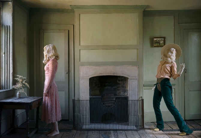 "poster for Anja Niemi ""She Could Have Been A Cowboy"""