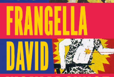"poster for Luis Frangella and David Wojnarowicz ""Desde New York"""
