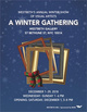 "poster for ""A Winter Gathering: Westbeth Visual Artists"" Exhibition"