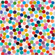 "poster for Damien Hirst ""Colour Space Paintings"""