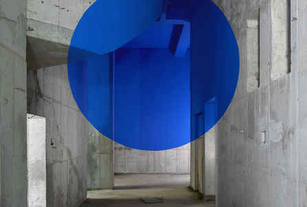 "poster for Georges Rousse ""In Situ"""