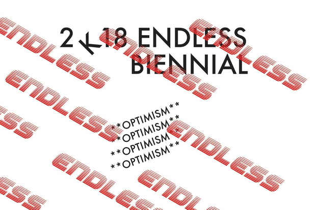 "poster for ""The Endless Editions Biennial"" Exhibition"