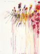 "poster for Cy Twombly ""Coronation of Sesostris"""