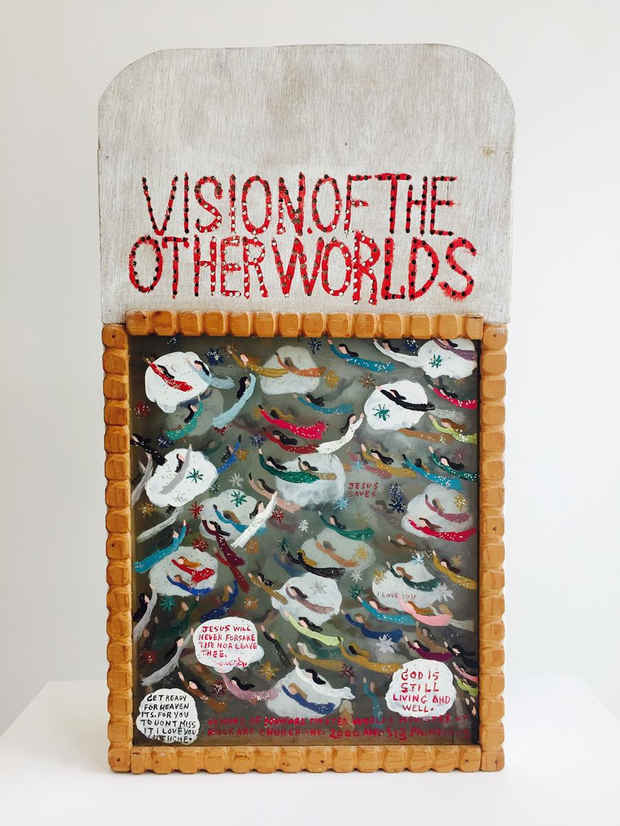 "poster for ""Vision of the Other Worlds"" Exhibition"