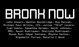 "poster for ""BRONX NOW"" Exhibition"