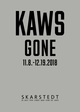 "poster for KAWS ""Gone"""