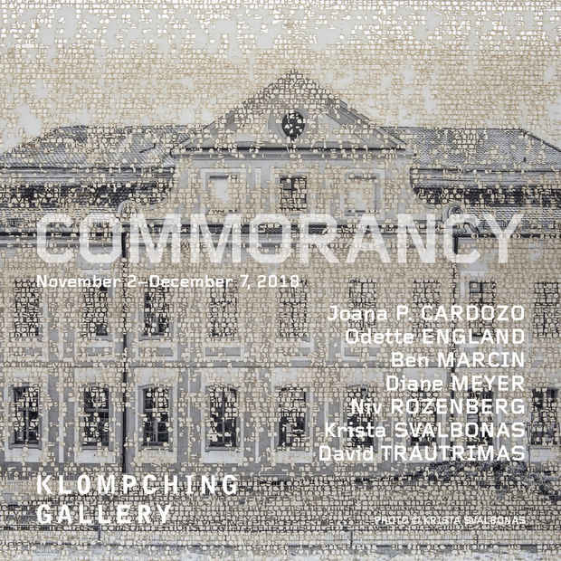 "poster for ""Commorancy"" Exhibition"