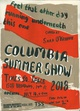 "poster for ""Columbia University MFA Summer Exhibition"""