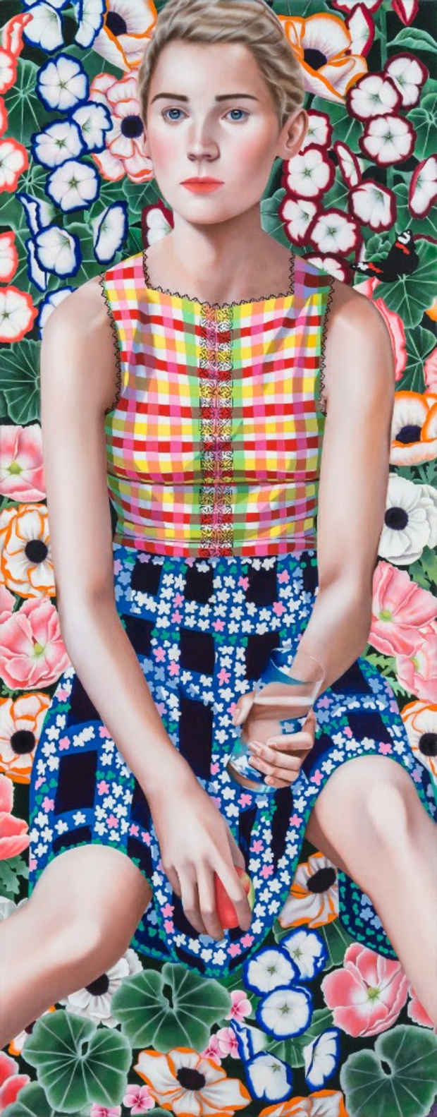 "poster for Jocelyn Hobbie ""New Paintings"""