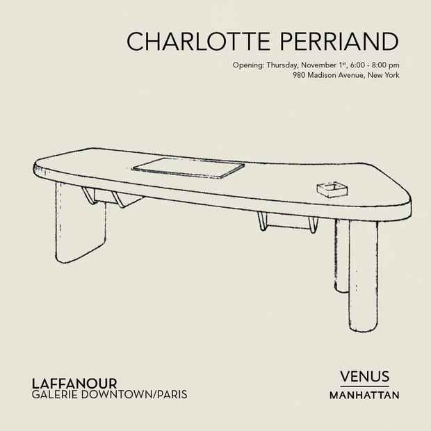 poster for Charlotte Perriand Exhibition