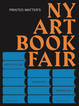 "poster for ""The NY Art Book Fair"""