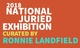 "poster for ""2018 National Juried Exhibition"""