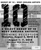 "poster for ""The Group of 10 – West Chelsea Artists"" Exhibition"