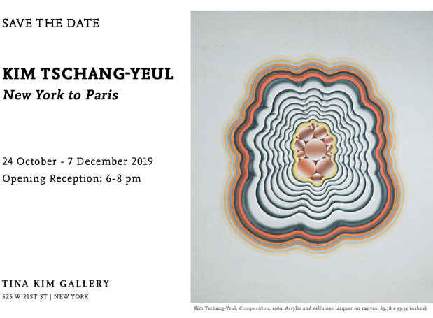 poster for Kim Tschang-Yeul Exhibition