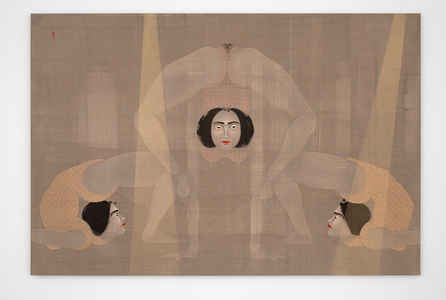 "poster for Hayv Kahraman ""Not Quite Human"""