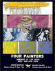 "poster for ""Four Painters"" Exhibition"