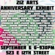 "poster for ""Anniversary Exhibit"""