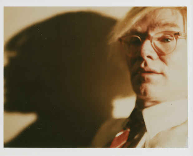 "poster for Andy Warhol ""Polaroid Portraits"""