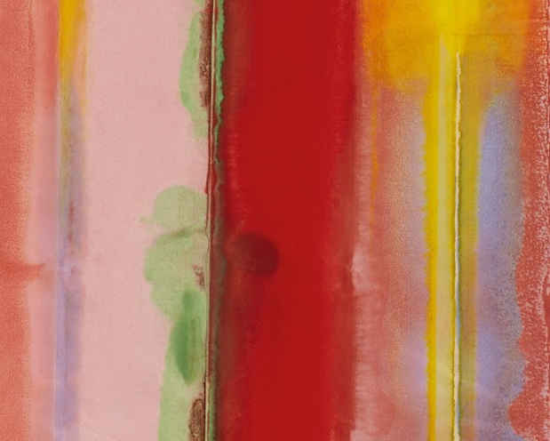 poster for Sam Gilliam and Richard Forster Exhibition