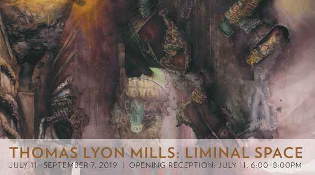 "poster for Thomas Lyon Mills ""Liminal Space"""